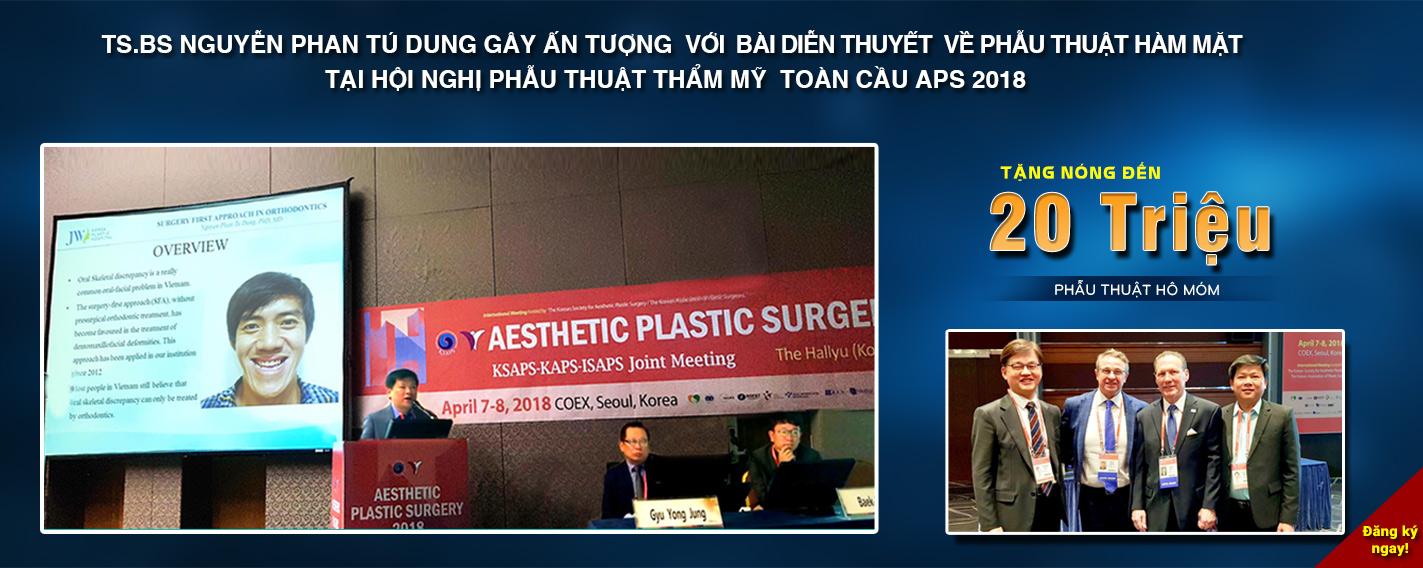 Bác sĩ Việt Nam báo cáo tại Hàn Quốc