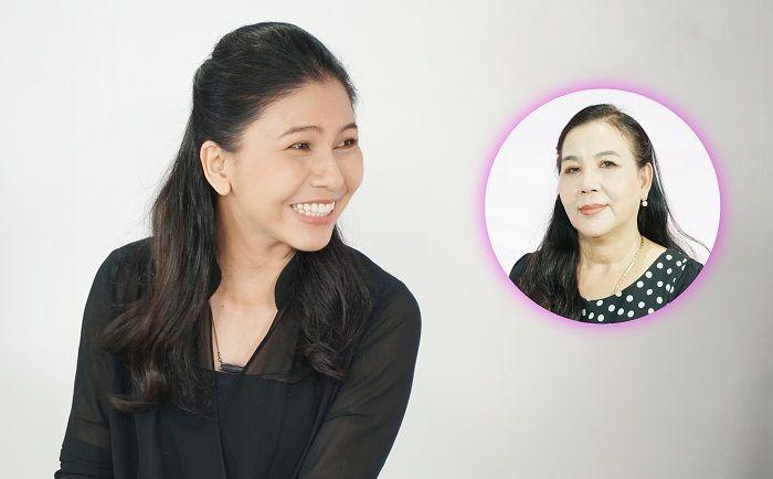 Diễn viên Thụy Mười ngỡ ngàng trước làn da trẻ như tuổi 30 của cô Kim Cúc