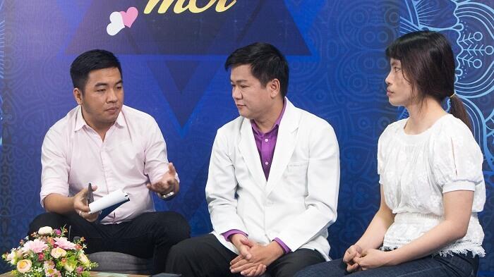 Nguyễn Ngọc Thạch bày tỏ sự xúc động trước hoàn cảnh của nhân vật Thắm.