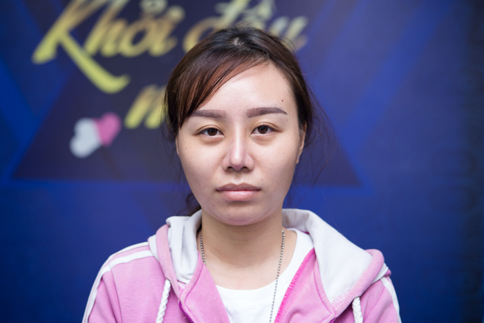 Chị K.N là thí sinh trong đêm giao lưu Nhan Sắc Mới - Khởi Đầu Mới