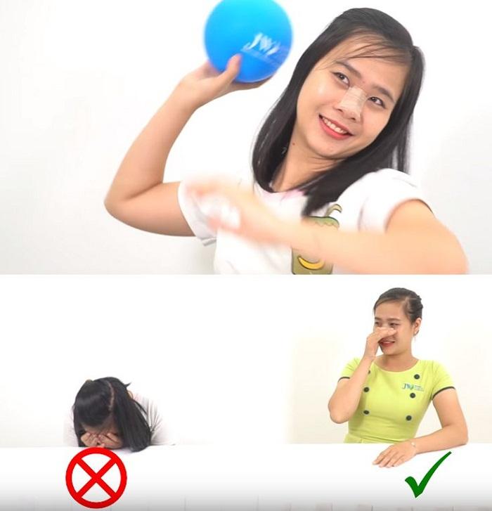 nâng mũi bao lâu thì rửa mặt được_5