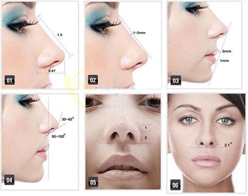 thế nào là chiếc mũi đẹp